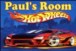 Personalised Hot Wheels Door Plaque